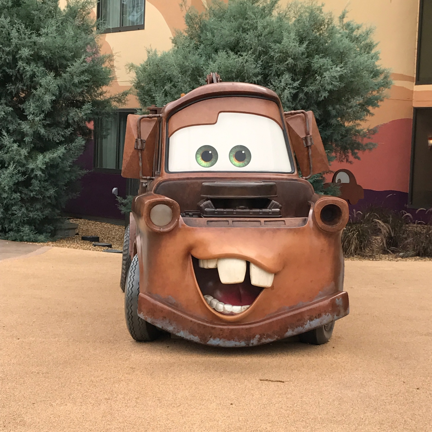 Art of Animation Resort- Cars Rooms – Midwest to Main Street
