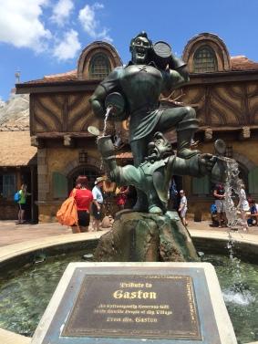 Gastons Tavern Fountain